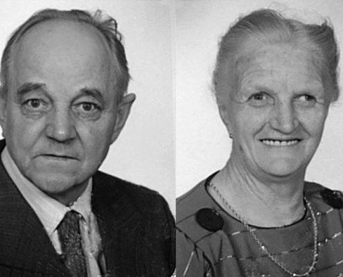 1959: Gründung des Bauunternehmens in Gössendorf durch Maurermeister Anton Hubmann und seiner Gattin Maria.